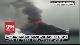 Gunung Anak Krakatau & Soputan Erupsi