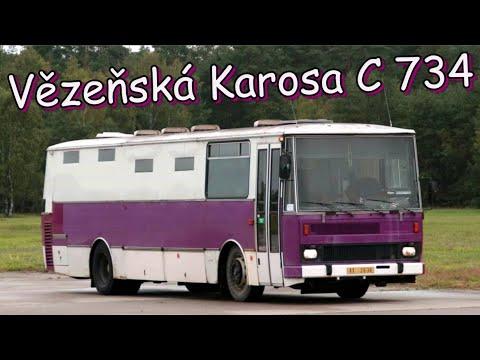 Event-VLOG #100 - Karosa C 734 vězeňské služby