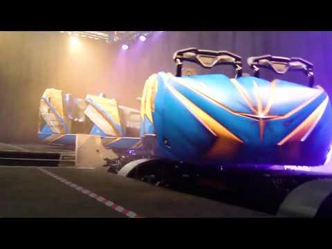 Disney World Guardians of the Galaxy: Cosmic Rewind Ride Vehicles