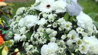 Funeral Flowers Example.
