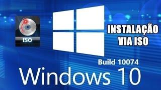 Como instalar o Windows 10 sem formatar o PC usando o arquivo .ISO