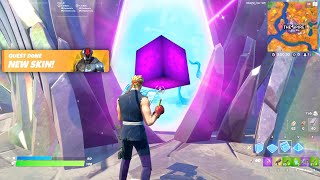 GLITCHING Into the Spire in Fortnite! (WHAT'S INSIDE?)