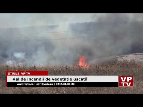 Val de incendii de vegetație uscată