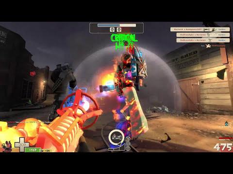 Team Fortress 2 Mvm Engineer on Nightmare - смотреть онлайн