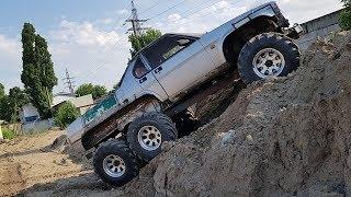 6X6 за МЕСЯЦ и ОНА ЕДЕТ первый тест Alfa Romeo + УАЗ off road
