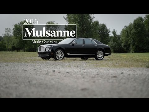 2015 Bentley Mulsanne Driving Review