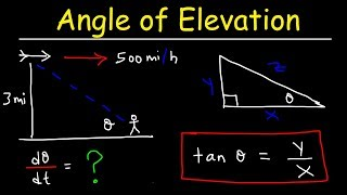 Related Rates - Angle Of Elevation Problem