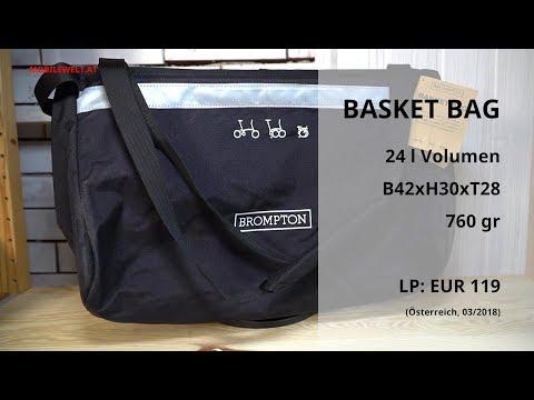 Brompton Basket Bag Einkaufstasche 2018