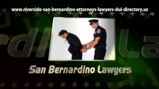 preview picture of video 'San Bernardino Defense Lawyers'