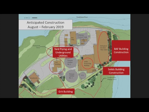 Peirce Island Waste Water Treatment Facility Upgrade 8.15.2018
