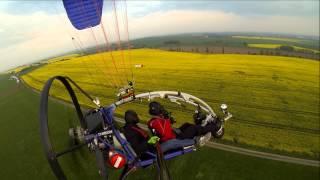 preview picture of video 'Ostern 2014 in gelb - mit XCitor am Liebschützberg unterwegs'
