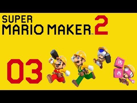 Download Super Mario Maker 2 Gameplay Walkthrough Part 3 Luigi P