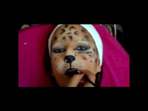 Maquillage enfant-Léopard.