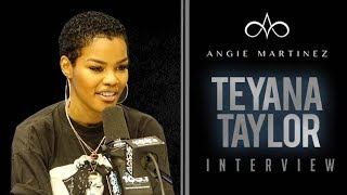 The Angie Martinez Show - Teyana Taylor Talks Having a Three Way, Changes To Her Album, + more!