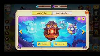 Idle Heroes - 120 Prophet Orb Summon - FORTRESS + FOREST +