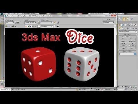 3ds Max Dice – Easy Beginner Tutorial