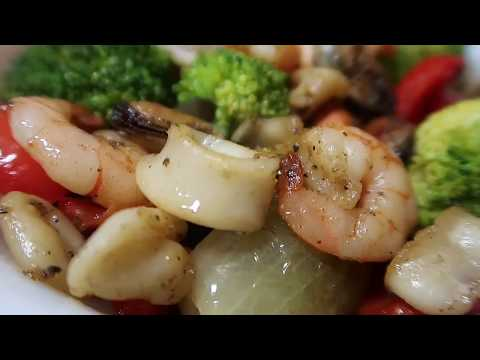 Mixed seafood stir fry recipe | Noki's Kitchen | EP #18