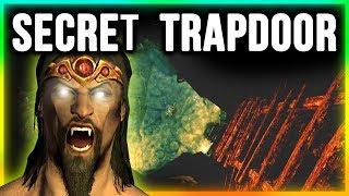 Skyrim Secret Trapdoor Location - Vampire's Lair Walkthrough