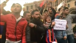 Armenian Prime Minister Resigns After Protesters Flood The Streets Demanding He Step Down!