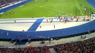 ME Berlin - Justyna Święty-Ersetic  - bieg po złoto na 400 m.