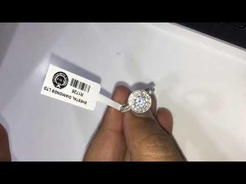 Classic Designer Diamond Engagement Ring