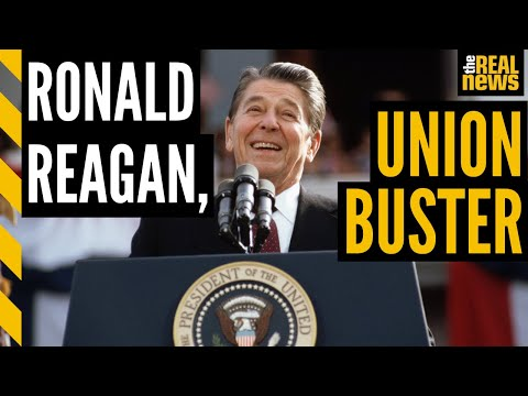 We are living in the hell Ronald Reagan made