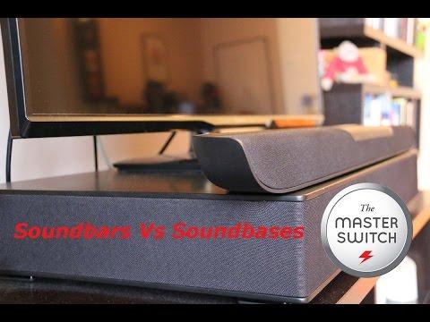 Soundbars Vs Soundbases