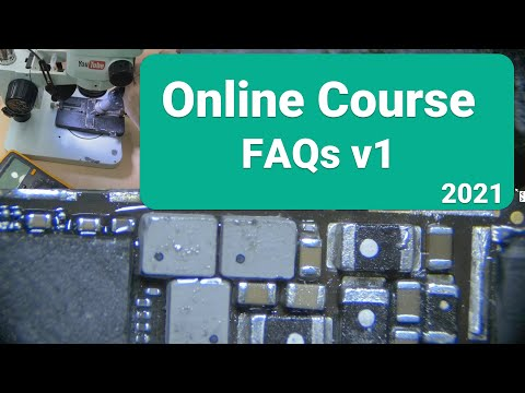 iPhone Logic Board Repair Online course 2021 【FAQs】 v1