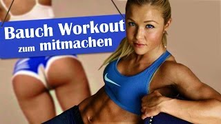 ♥Bauch-HomeworkoutzumMitmachen!♥TrainingmitSophiaThiel