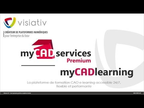 La formation vient à vous grâce aux modules e-learning SOLIDWORKS en ligne sur myCADlearning