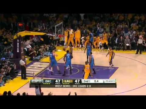 Lakers Rein Thunder In