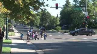 Denver Public Schools Superintendent, Staff Take on Crossing Guard Duty