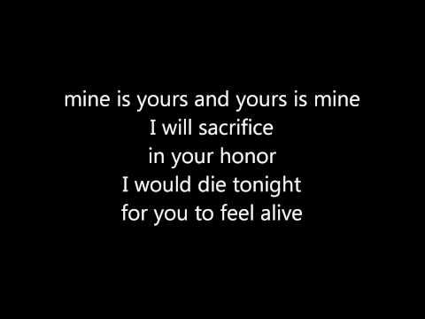 In Your Honor by Foo Fighters with lyrics : )