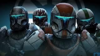 Star Wars - Delta Squad (Clone Commandos) Complete Music Theme