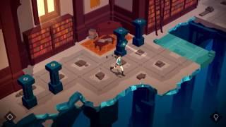 "Lara Croft GO Walkthrough The Mirror of Spirits Level 5 ""The Library"""