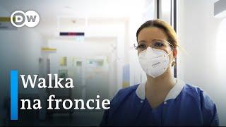 Niemcy. Pielęgniarka na froncie walki z koronawirusem