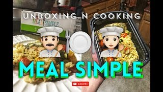 MEAL SIMPLE PESTO SALMON HEB (UNBOXING & COOKING)