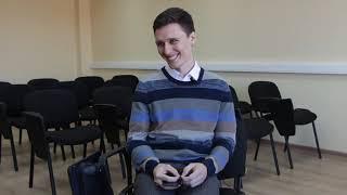Интервью перед открытой лекцией в КубГМУ