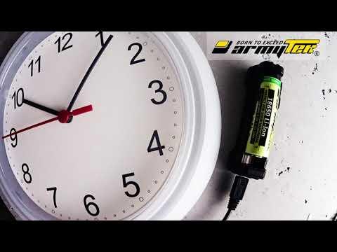 Ładowanie baterii 18650 Li-Ion 3000 mAh dla Vape za pomocą Armytek Handy C1