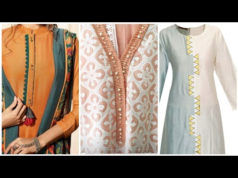 Beautiful Neckline Designs For Beautiful women's and Beautiful girls must watch and try