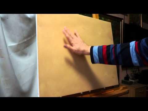 Смазка для холста. Технические советы в масляной живописи
