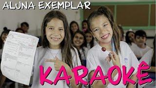 KARAOKÊ - A ALUNA EXEMPLAR (COM LETRA) - PLANETA DAS GÊMEAS
