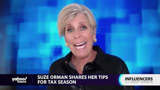 Taxes: If you're getting a tax refund, something is radically wrong: Suze Orman