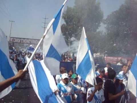"""""""CARAVANA PUEBLA FC - LA ZKINA"""" Barra: Malkriados • Club: Puebla Fútbol Club"""