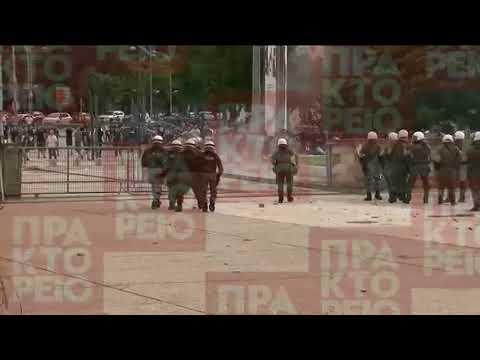 Θεσσαλονίκη: Επεισόδια σε εκδήλωση του ΣΥΡΙΖΑ