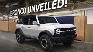 2021 Ford Bronco - Everything We Know!