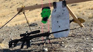 1,000 Yard Zombie Head Challenge! 6.5 Creedmoor Bolt Action AR-10!