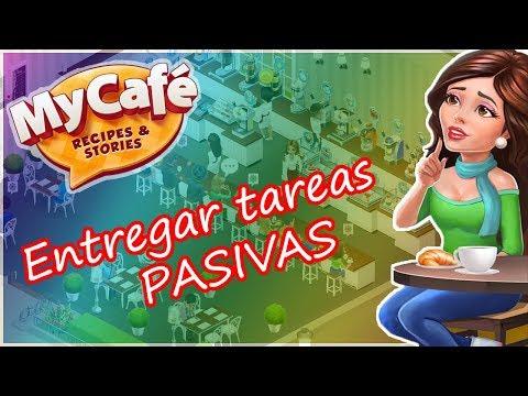 My Cafe: Recipes & Stories - Entregar tareas pasivas (te, canela, limon, helado...)
