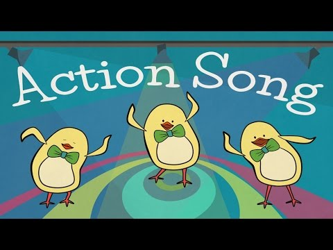 Action Songs for kids | The Singing Walrus