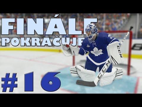NHL 19 | KOBLIH GOLMANEM #16 | FINÁLE POKRAČUJE! | CZ/SK